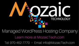 Mozaic Technology managed divi wordpress hosting company