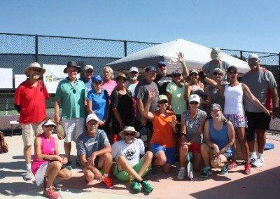 4.0 Mixed Doubles participants
