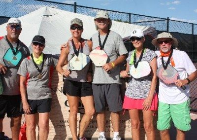 4.0 Mixed Doubles Winners