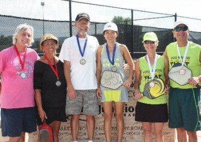 Western Slope Open 4.0 Mixed Doubles Medallists