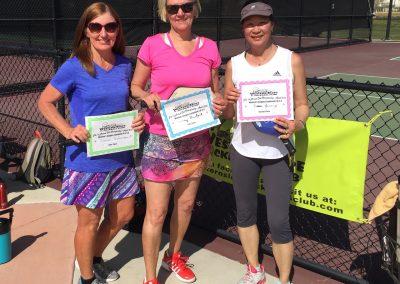 Women 3.0 - 3.5 winners