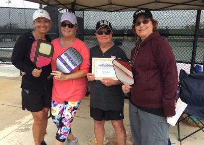 Women's 3.5 winners
