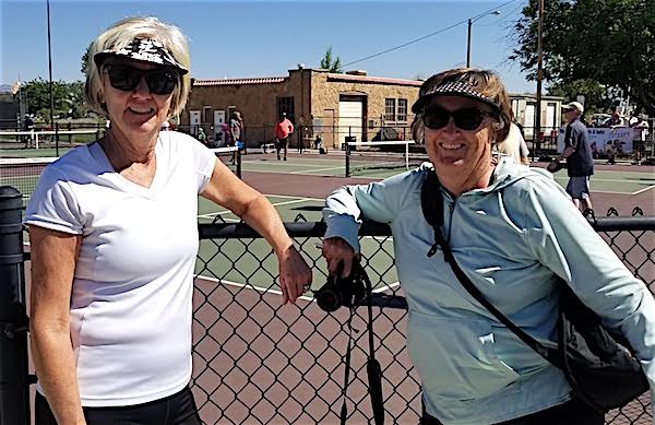 Nancy Burford & Maureen Beyer